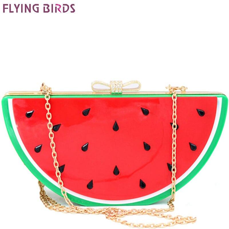 Pájaros de vuelo! compra mujer embrague noche bolsa mujeres del estilo del veran