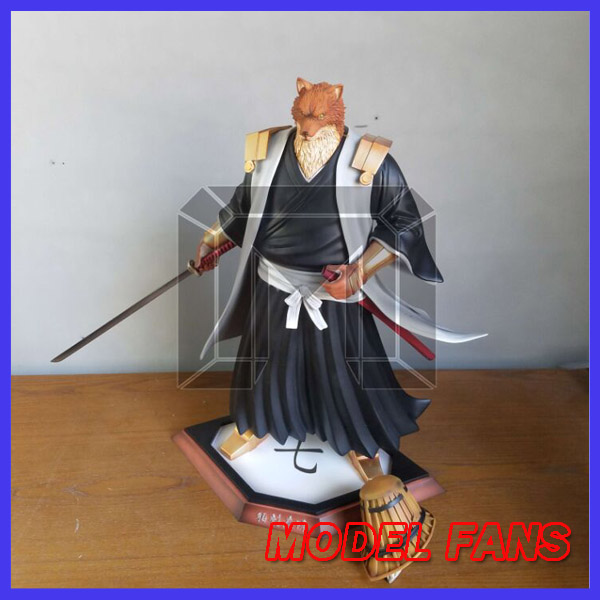 MODEL FANS IN-STOCK BLEACH captain 45cm Komamura Sajin GK resin made for Collection model fans in stock the same paragraph tsume 50cm fist of the north star lao gk resin made for collection