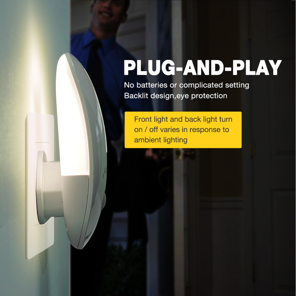 Original Sensky motion LED Night Light Infrared Remote Control Body Smart Home Night Lamp   2pcs/pack