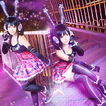 Love Live Cyber Game Ver Shinning Awakening Eli All Members LED Light Up Cosplay Costume Uniform Suits Women Dress For Christmas