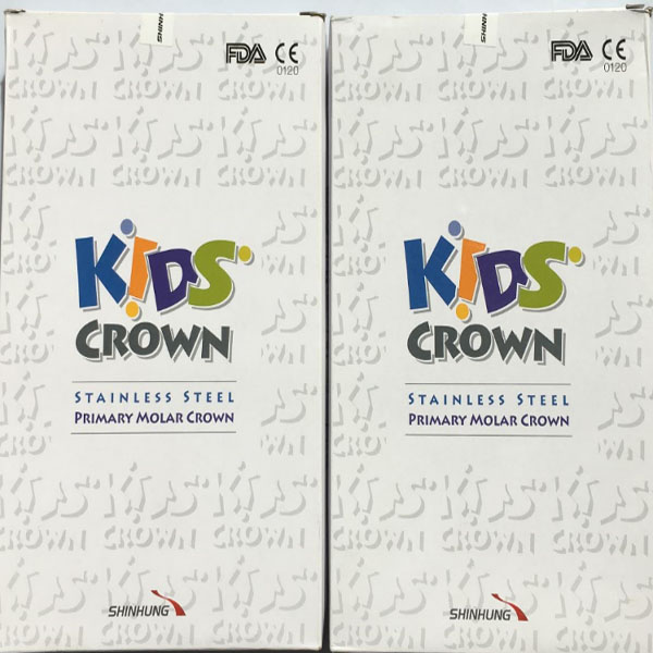 Crown for deciduous tooth/stainless steel Kids Crown/Shinhung Dental Kiids Crown  crown cmcch 3315br
