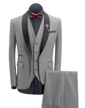 395fb4fa3e3 Traje hecho a medida slim trajes para hombres de lana retro marrón de  vestido de boda de hombre traje de 3 piezas (chaquetas + c.