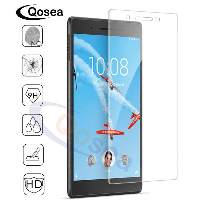 Qosea Écran Protecteur Pour Lenovo Tab 4 TB-7504 7504F 7504I 7504X Trempé Verre Ultra-mince Clair Pour Lenovo Tab4 Tablet PC Film