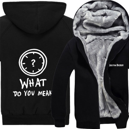 Toure Hoodies With Fleece Staff Hoody Thickening hoodies Men Women Justin bieber Streetwear China 4XL Size