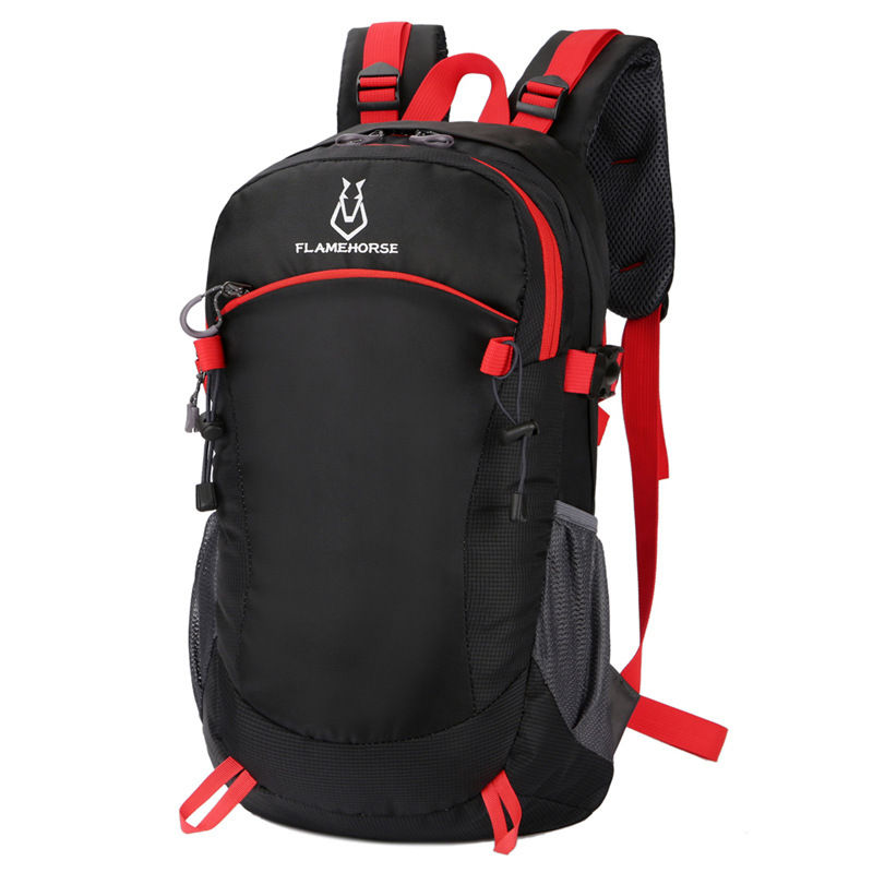 Camping Hiking Backpack Ourdoor Sports School Bag Travel Waterproof Nylon Shoulder Bags Women Men Rucksack Laptop Bags XA369WA army green men women laptop backpack 15 15 6inch rucksack school bag travel waterproof backpack men notebook computer bag black