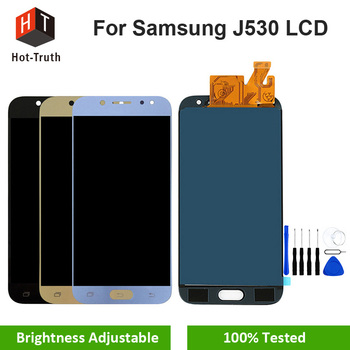 Hot-Verità Top Qualità di Visualizzazione Per Samsung Galaxy J5 Pro J530 J530F LCD + Touch Screen Digitizer Assembly Per samsung J5 2017 J530
