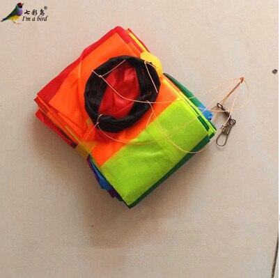 Free Shipping Outdoor Fun Sports Kite Accessories /10m Rainbow 3D/ TubeTail For Delta kite/Stunt /software kites Kids Gift
