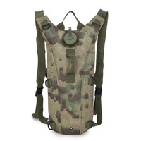 3L Water Bag Molle Military Tactical Hydration Backpack Outdoor Camping Cycling Camelback Nylon Camel Water Bladder