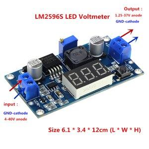 LM2596 LM2596S LED Voltmeter D