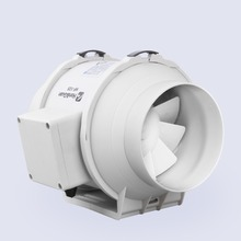 """E-EMS Freies Verschiffen 5 zoll 5 """"Honguan Lüftungssystem 125mm inline fan HF-125P 110 V/220 V Mischströmung Inline-rohrventilator abluftventilator"""
