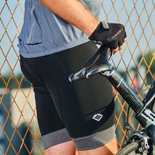 цена на Santic Cycling Shorts Men 2017 Coolmax 4D Padded Shorts Shockproof MTB Road Bike Pro Shorts Reflective ciclismo KS6009M