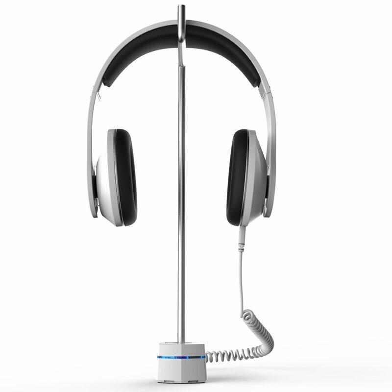2pcs/lot New Anti Theft Loop Alarm Lock for Wireless Headphone,Headset Display Security Headset Holder