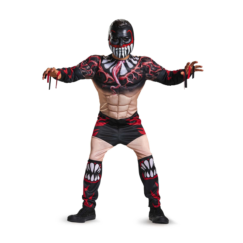 WWE Star Finn Balor Monstrously Awesome Wrestling Style Classic Muscle Boys Costume