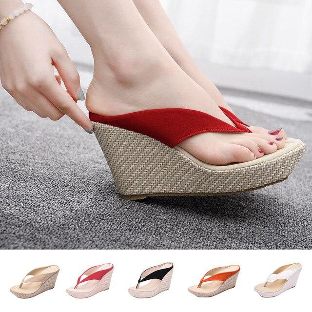 Flops Zapatos SandaliasFlip En De Moda Venta Casuales Mujer Hueco HED9I2