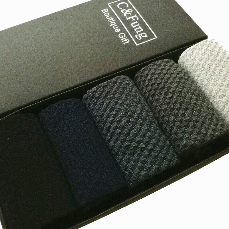 C Fung 5pairs 2016 fashion bamboo fiber socks men s socks summer gift box men s