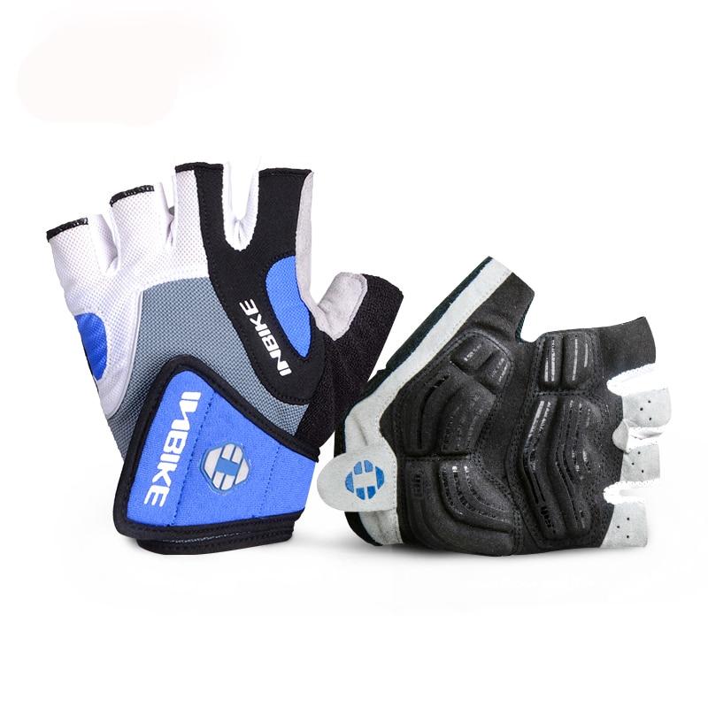 INBIKE Cycling Gloves Half Finger Bicycle Gloves Bike Gel Pad Racing Biking Gloves guantes ciclismo luva guantes bisiklet IF239