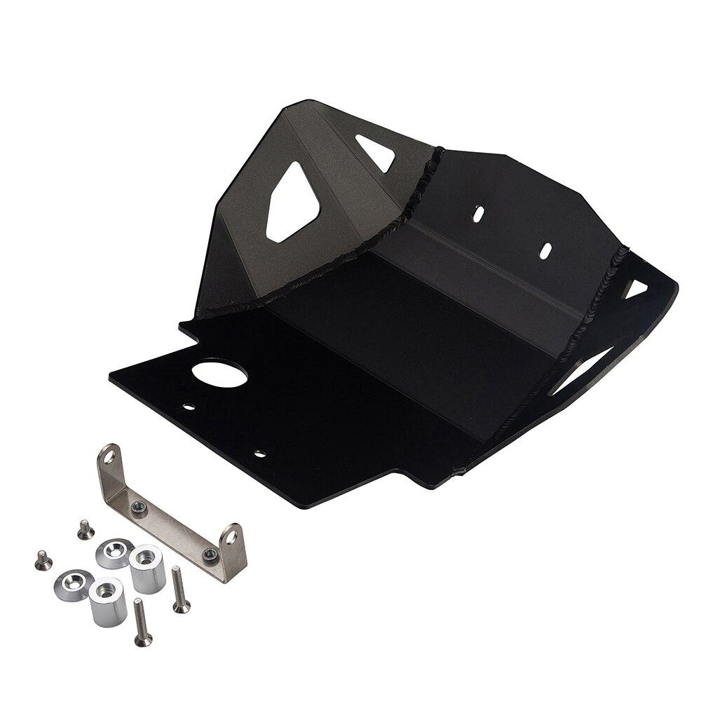 (Дополнительно:серебро,Черная) защитная пластина алюминиевая защита двигателя для Honda CRF250L 2013 2014 2015