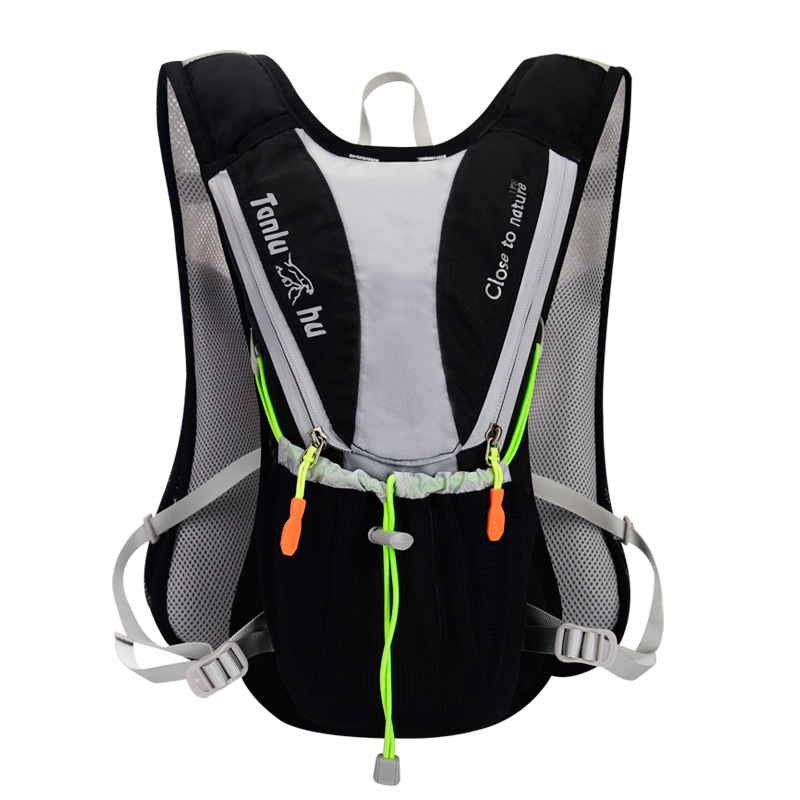 Image 3 - TANLUHU 675 Ultralight Outdoor Marathon Running Cycling Hiking Hydration Backpack Pack Vest Bag For 2L Water Bag Bladder Bottle-in Running Bags from Sports & Entertainment