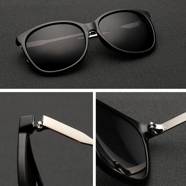 ELITERA 2017 Luxury Women Sunglasses Fashion Round Ladies Vintage Retro Brand Designer Oversized Female Sport Sun Glasses Tide