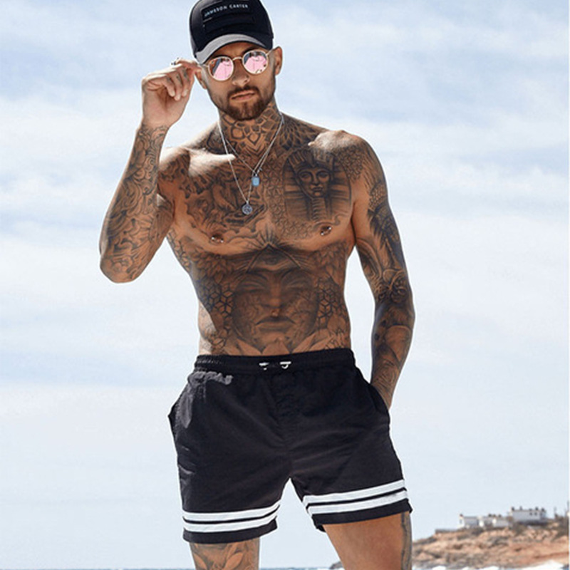 New Fashion Men Sporting Beaching Shorts Trousers Bodybuilding Sweatpants Fitness Short Jogger Casual Gyms Men Big Size Shorts