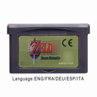 The Legend ofZelda A Link to the Past & Four Swords 32 Bit Video Game Cartridge Console Card EU Version Multi-language