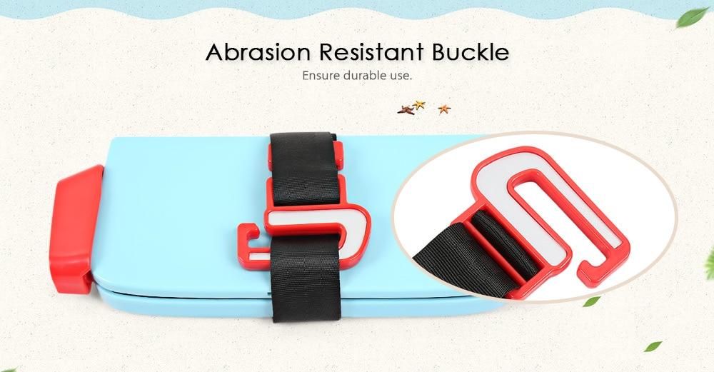 Portable Foldable Children Kids Safety Booster Car Seat Adjus (