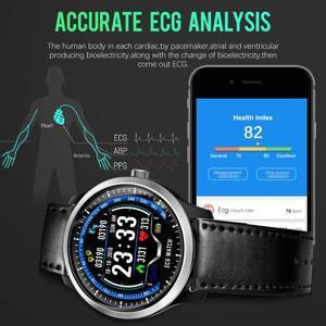Image 4 - CYUC N58 ECG PPG montre intelligente hommes électrocardiogramme ecg affichage, holter ecg traqueur de fréquence cardiaque moniteur de pression artérielle smartwatch