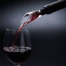 Быстрый Графин Белый Красный бутылки вина Топ пробка сброс Воронка аэратор Pourer