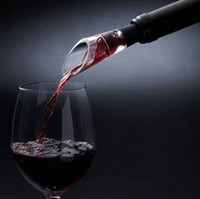2016 Hızlı Decanter Beyaz Kırmızı şarap şişesi Üst Stoper Damperli Huni Havalandırıcı Pourer|wine decanter|decanter bottlewine aerator decanter -