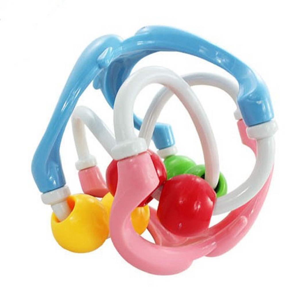 Hand Movement Training Grasping Toy Slide Rattle Ball For Baby Intelligence Development Baby Rattles Toys for stroller Kids toy