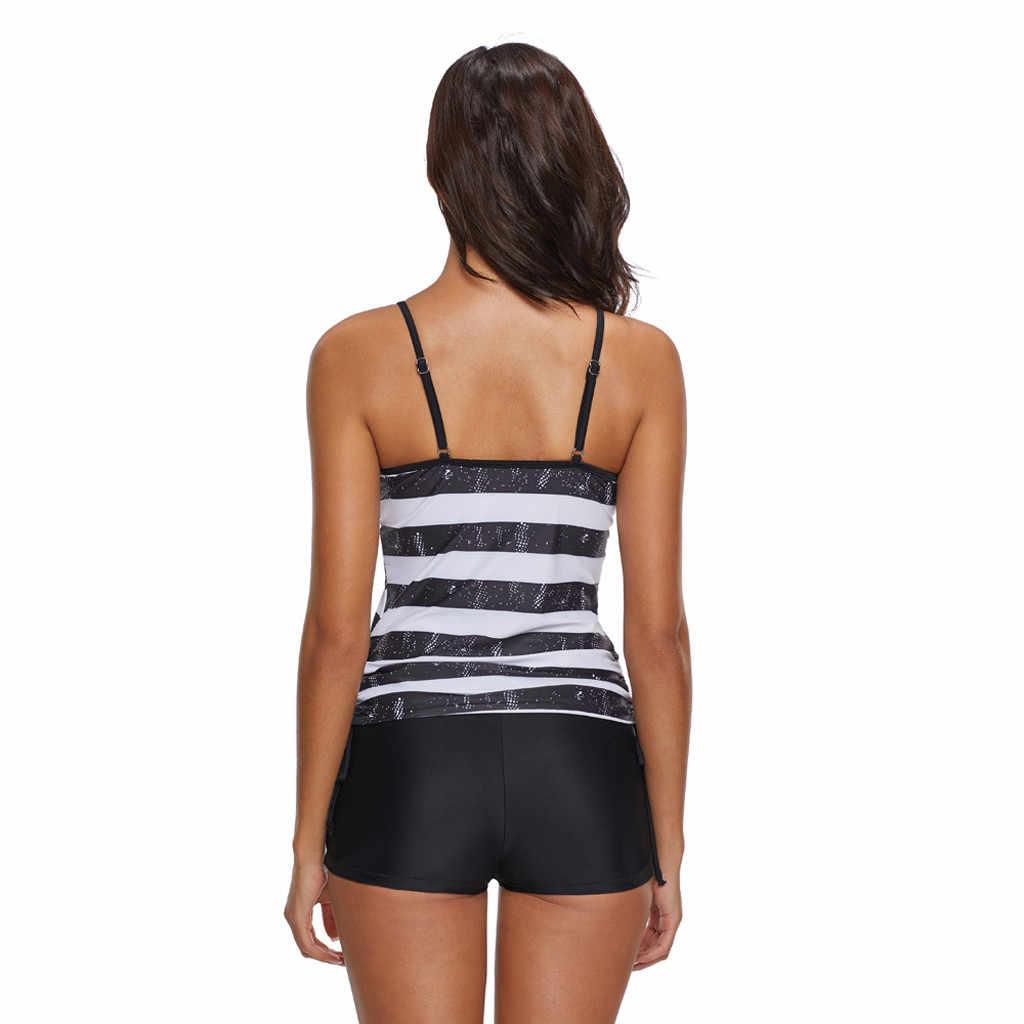Women American Flag bikini set Two Pieces Bikini Swimwear Beachwear bathing suit women one piece plus size#G4