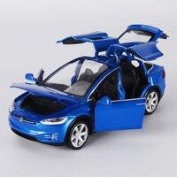WANGE High Simulation 1 32 Alloy Car Model Tesla MODEL X90 Metal Diecasts Toy Vehicles Pull