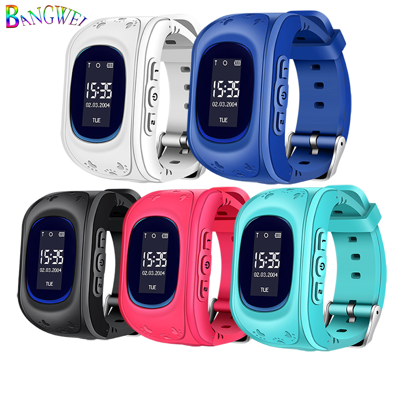 BANGWEI 2018 New Children Watches SOS Security Loss Prevention Kid LBS Smart Watch Remote Monitoring SmartWatch