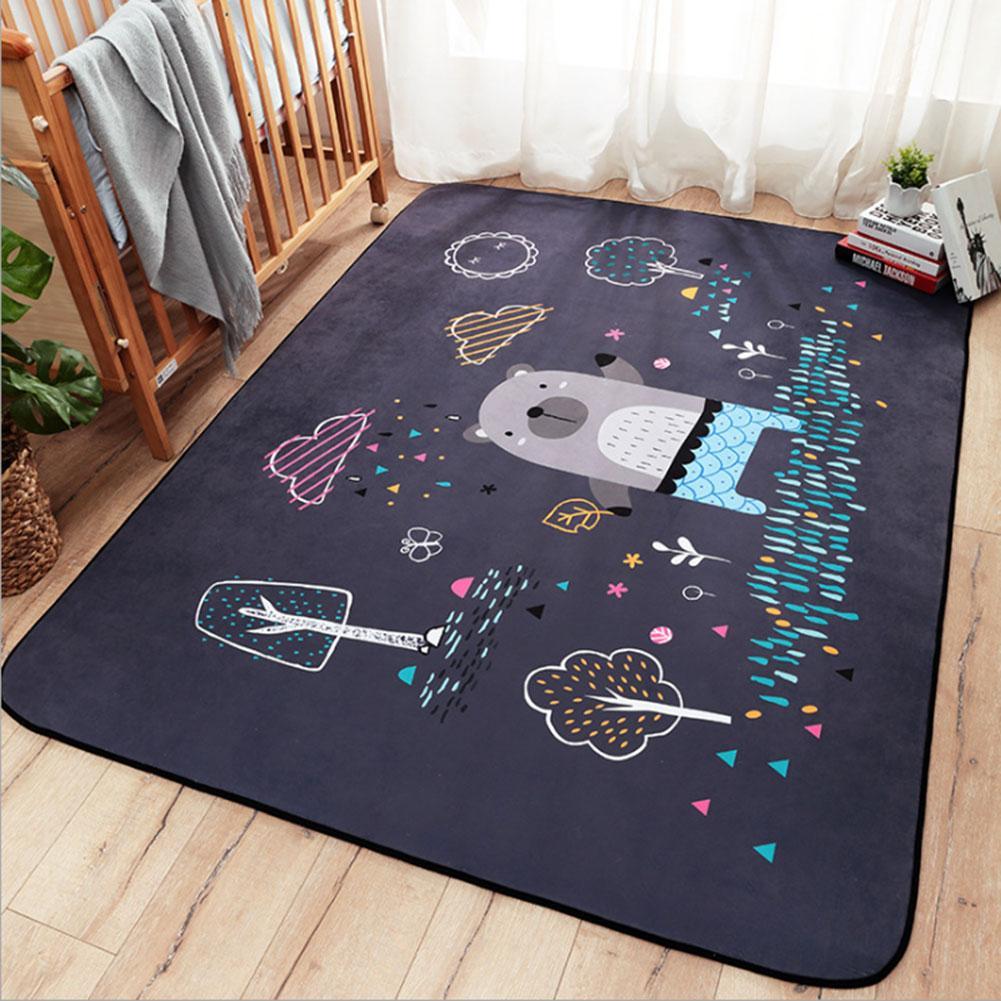 Tapis de jeu bébé enfants pliant enfants tapis de jeu ramper sur tapis tapis anti-dérapant salon chambre épais bébé ramper tapis