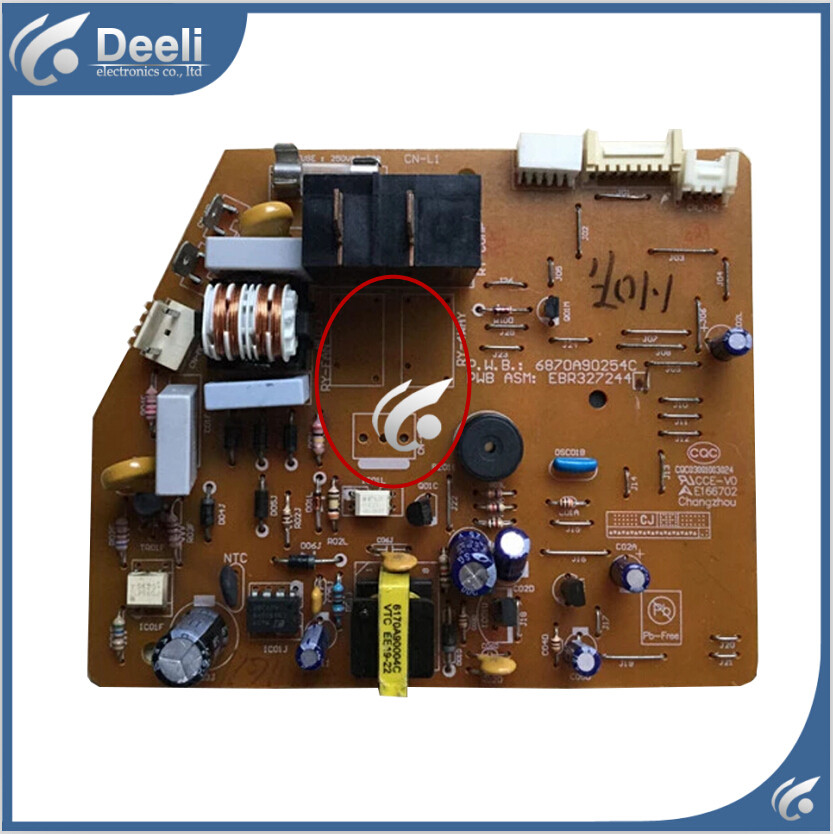 95% new good working for air conditioning board 6870A90254C EBR327244 control board Single cold epia ml8000ag epia ml 8000ag epia ml rev a industrial board 17 17 well tested working good