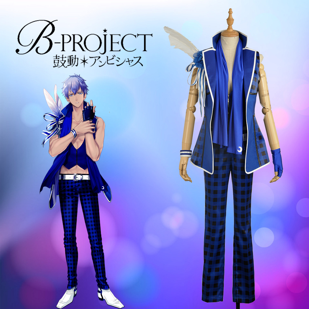 W1017 Anime/Game Virtual Idol Group B-project  MOONS Nome Tatsuhiro Stage Cosplay Custom Costume Outfit Clothing For Adult