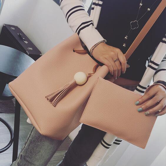 El envío Libre nuevos bolsos de Moda de Calidad de LA PU de cuero bolso Femenino