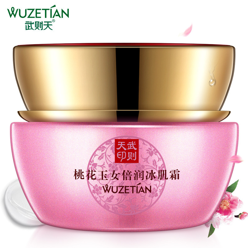 Hot Wu Zetian Peach Jade Woman Run Ice Cream Pink Moisturizing Whitening Moisturizing Cream Gentle Moisturizing Facial Treatment Spare No Cost At Any Cost Skin Care