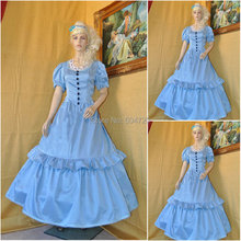 sc-599 Victorian Gothic/Civil War Southern Belle loose Ball Gown Dress Halloween Vintage dresses Custom made