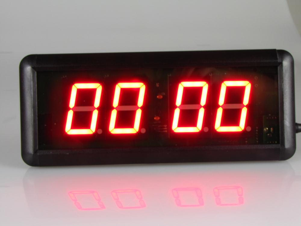 Gym interval timer electronic timing led