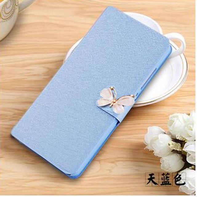 Hot Selling Lenovo A916 Case Cover Bling Flip Cover PU Leather Case For Lenovo A916 Mobile Phone Bags Skin With Card Holder