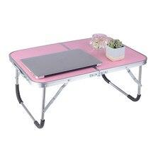 Laptop Double Folding Computer Table Folding Computer Desk P