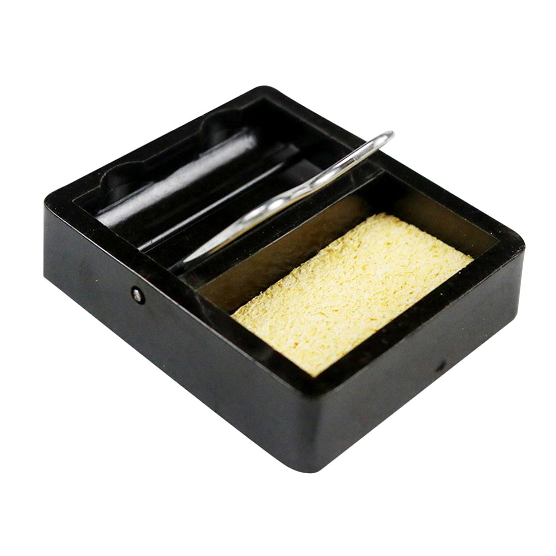 Small And Simple Electric Soldering Iron Stand Holder Metal Support Station With Solder Sponge Soldering Iron Frame