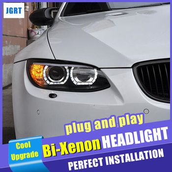 new headlight Assembly for BMW M3 head lights 2008 2009 2010 2011 2012 2013 for E92/E93 330 335 led drl Bi-xenon Lens Projector