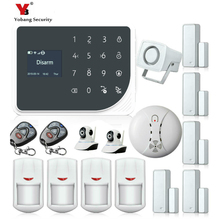 YoBang Security Smart Home Burglar Alarm System App Remote Control GSM GPRS SMS Wireless Alarm System Security Video IP Camera