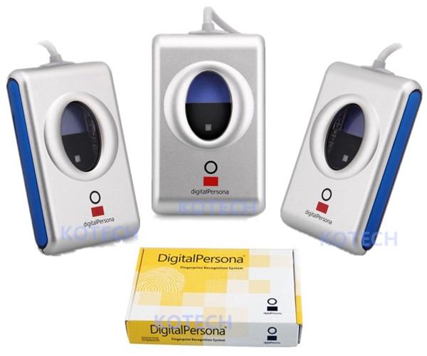 Digital Persona Fingerprint Reader USB Biometric Fingerprint Scanner Sensor URU4000B 2016 new md300 usb digital dental x ray reader x ray film viewer digitizer scanner usb reader digital image dental scanner