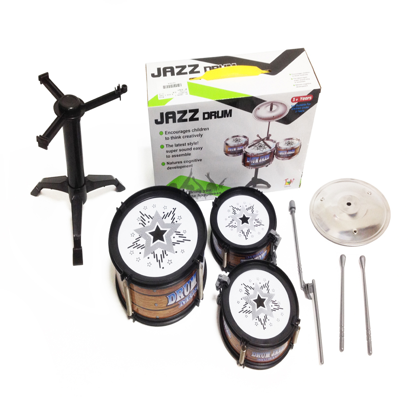GLOBAL-DRONE-Children-Jazz-Drum-Toy-Cymbal-Sticks-Rock-Set-Musical-Hand-drum-Kids-diy-funny-Drums-Gift-Toy-4