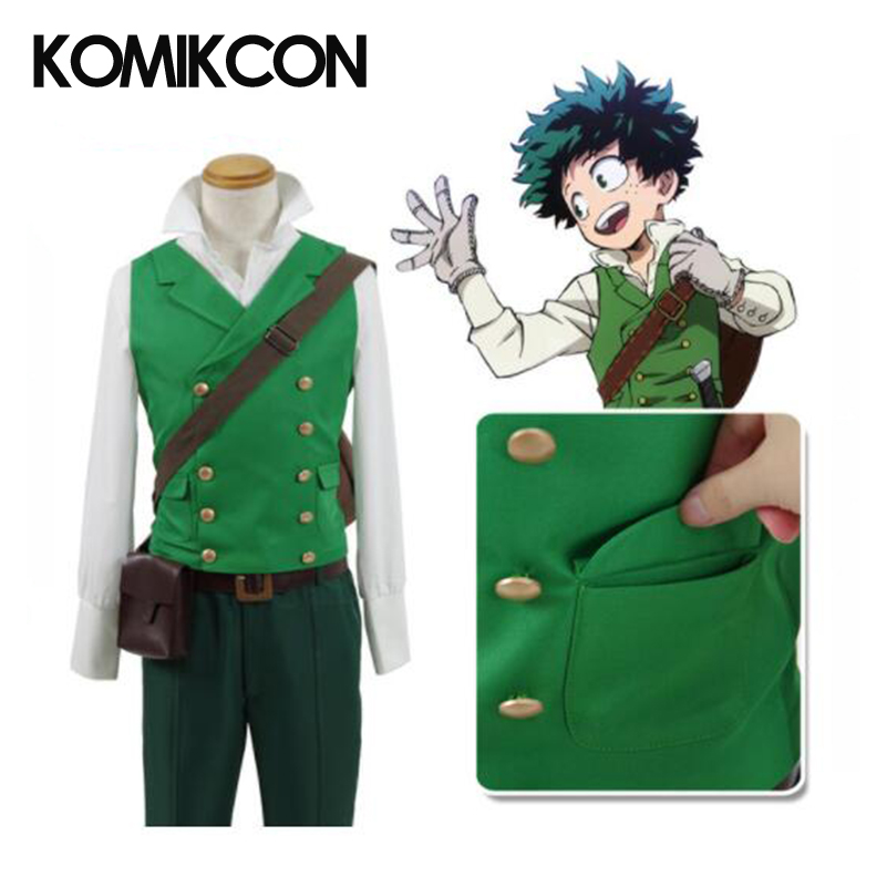 Us 94 99 5 Off My Hero Academia Cosplay Izuku Midoriya Costume Deku Costume Uniform Halloween Costume For Men Adults Women Gifts In Anime Costumes