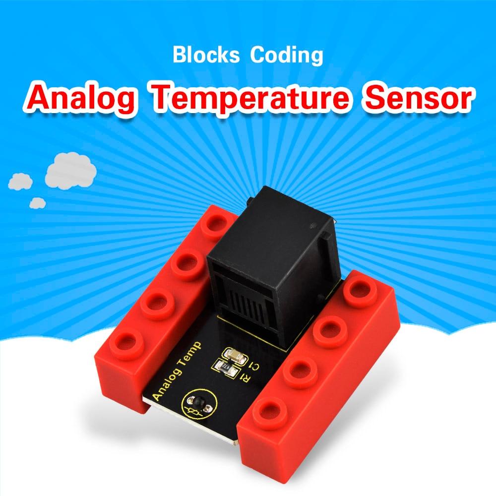 Kidsbits блоки кодирования аналоговый датчик температуры модуль для Arduino пара EDU (черный и экологически чистый)-in Доски для показов from Компьютер и офис on AliExpress - 11.11_Double 11_Singles' Day