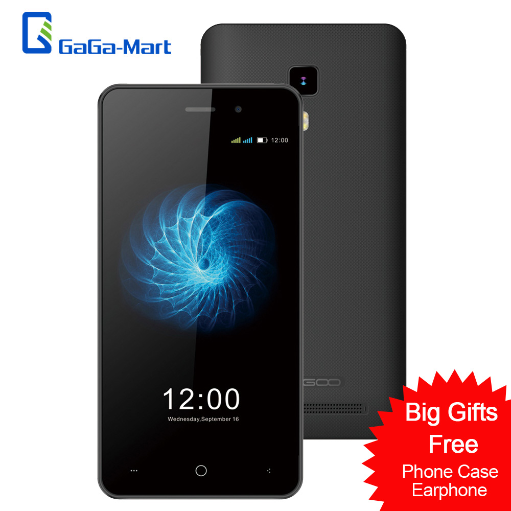 Цена за LEAGOO Z3C 3 Г Смартфон Android 6.0 SC7731C Quad Core 1600 мАч Сотовый Телефон 512 МБ RAM 8 ГБ ROM 5.0MP + 2.0MP 4.5 дюймов Мобильный Телефон